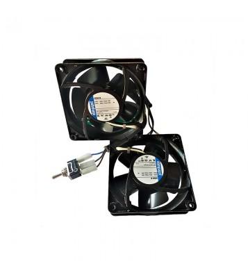 Pack 2 ventiladores 9X9